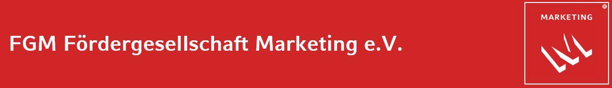 FGM Fördergesellschaft Marketing Logo